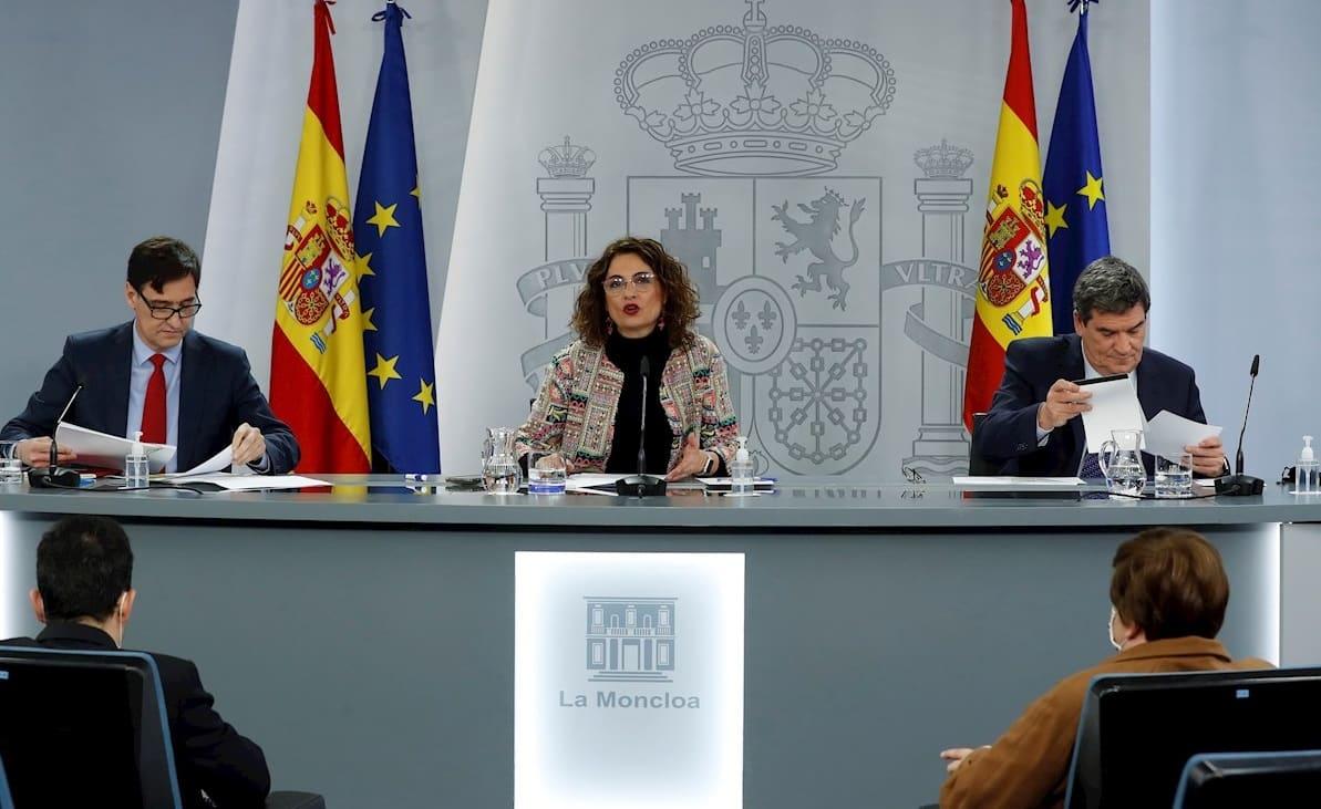 consejo de ministros aprueba nueva prorroga a los ERTE
