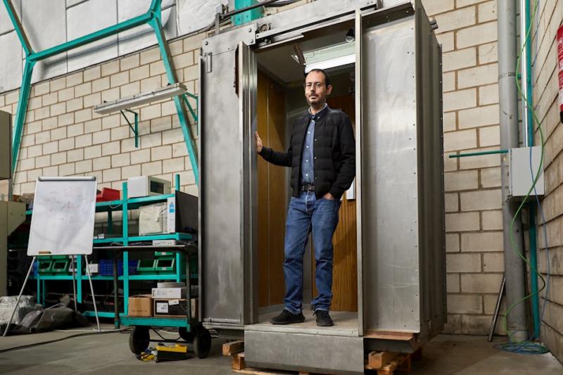 Patentado el ascensor 'anti-covid', invento en tiempos de pandemia