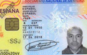 NIF o número de identificación fiscal