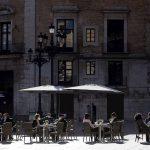 Terraza de un bar en València.