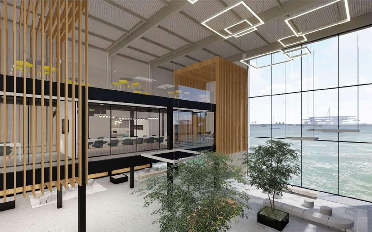 Imagen sobre cómo será la nueva sede de Zeus