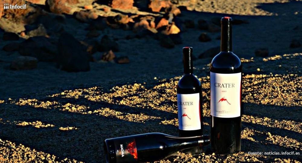 Crater Bodegas es una bodega artesanal y tradicional que fabrica unas 10.000 botellas al año por cosecha