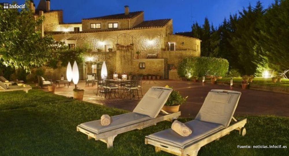 Uno de los hoteles con encanto de Rusticae situado en Girona