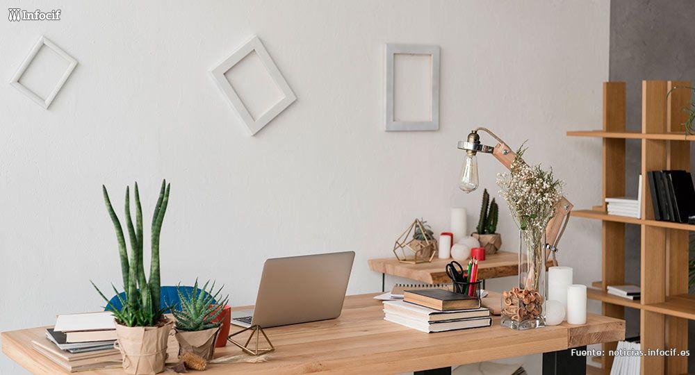 7 trucos para crear una oficina bonita, acogedora y eficiente en casa