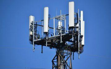 Antena de telefonía móvil.