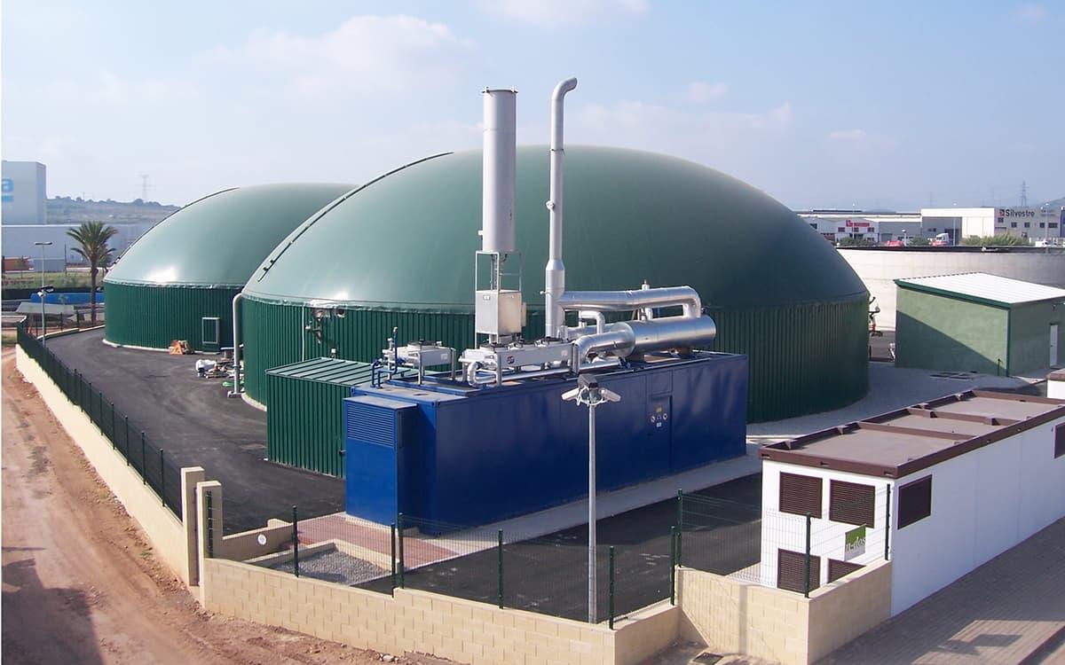 Biovic, planta de biogás
