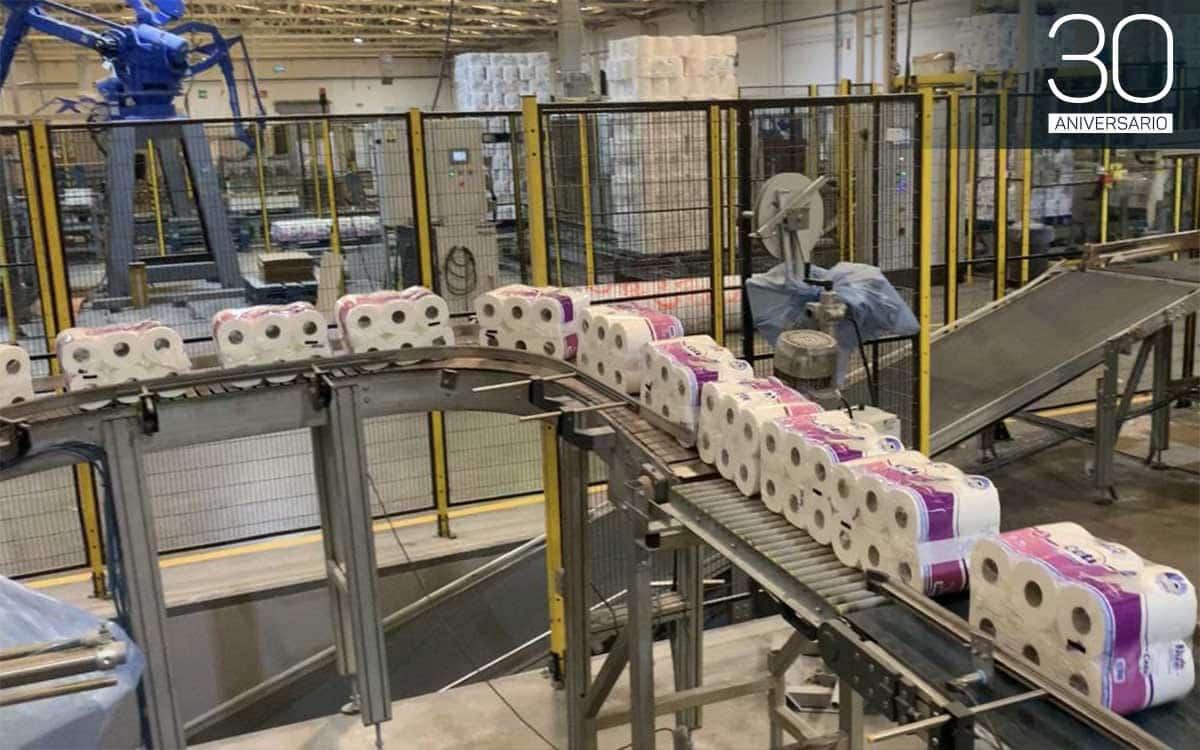 Maquinaria de la compañía Celulosas y Tissues