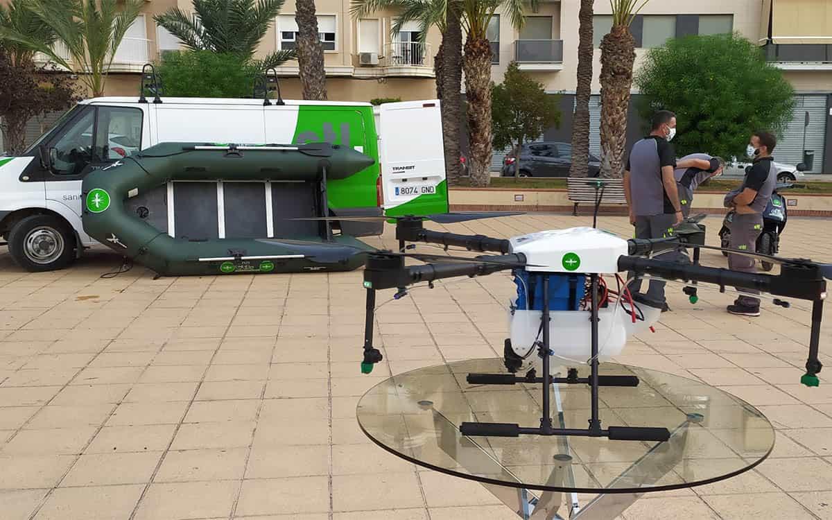 CTL-Sanidad Ambiental-drones