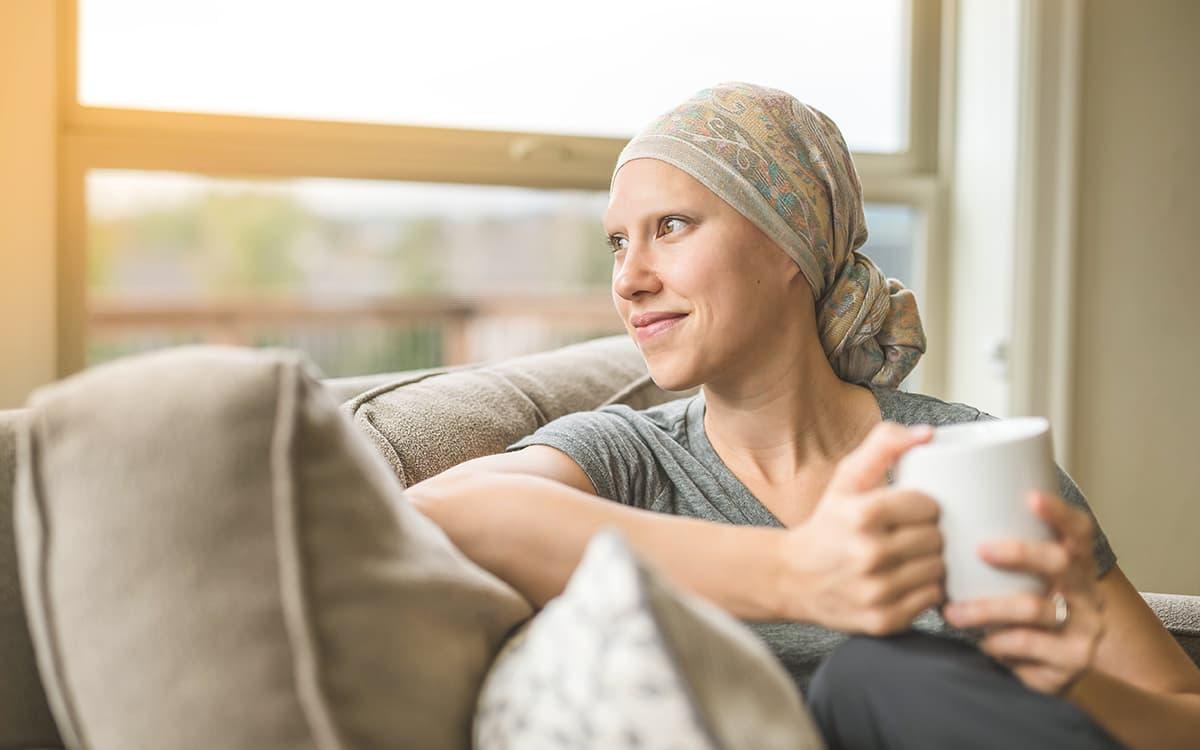 persona con cáncer