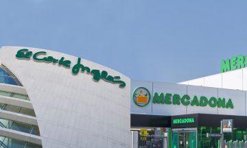 El Corte Inglés y Mercadona.