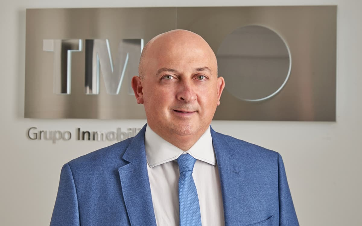 Pablo Serna, Director General de TM Grupo Inmobiliario.
