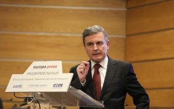 Pedro Saura, Secretario de Estado de Transportes, Movilidad y Agenda Urbana
