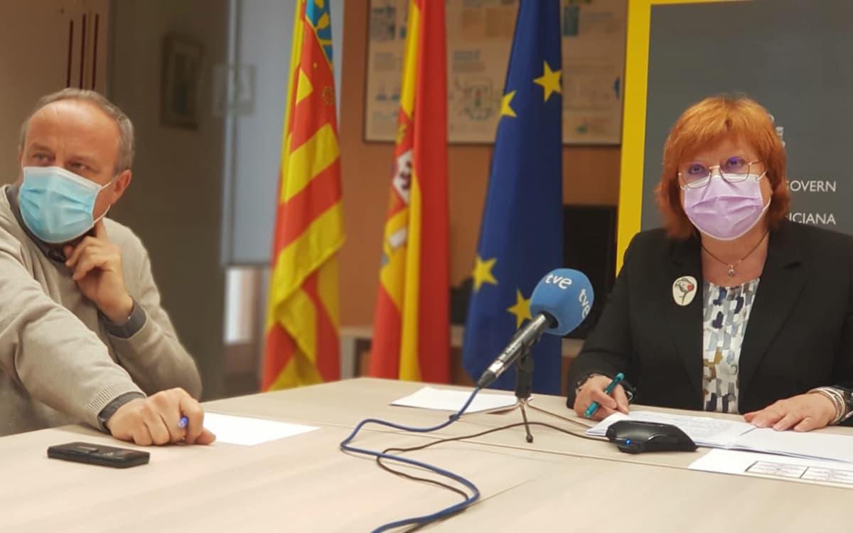 La delegada del Gobierno, Gloria Calero