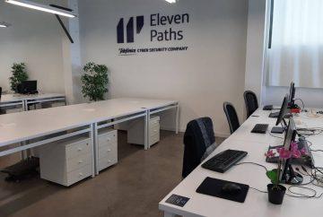 oficinas del nuevo centro de Telefónica en la Marina