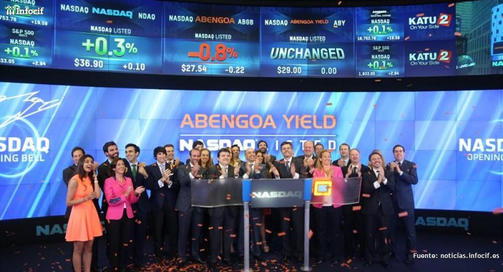 Abengoa Yield debuta en el Nasdaq