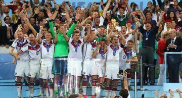 Alemania, celebrando su cuarto título mundial
