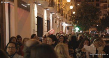Ambiente de la calle en la última edicion del Valencia Shopening Night