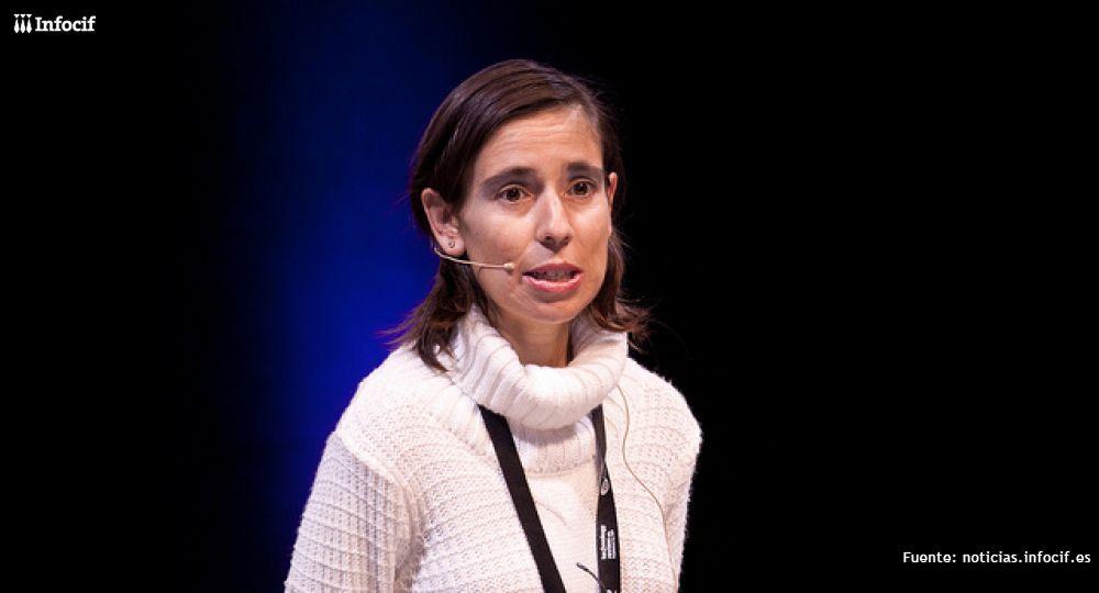 Ana Díez, durante el EmTech 2012. /EMTECH