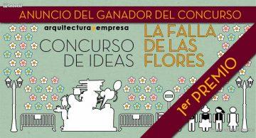 Ganador Concurso de Ideas La Falla de las Flores