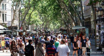 Aumenta el gasto turístico de los extranjeros en España