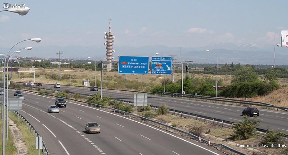 Imagen de una autopista española /M.Peinado