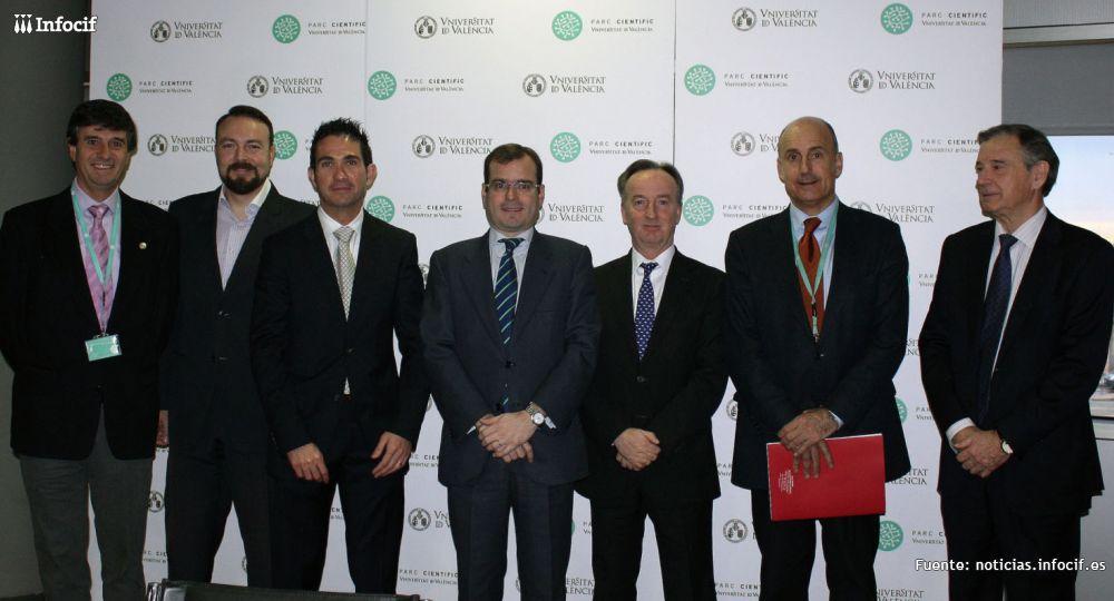 Antonio Aynat, Consejero Delegado de Gedesco (tercero por la derecha)