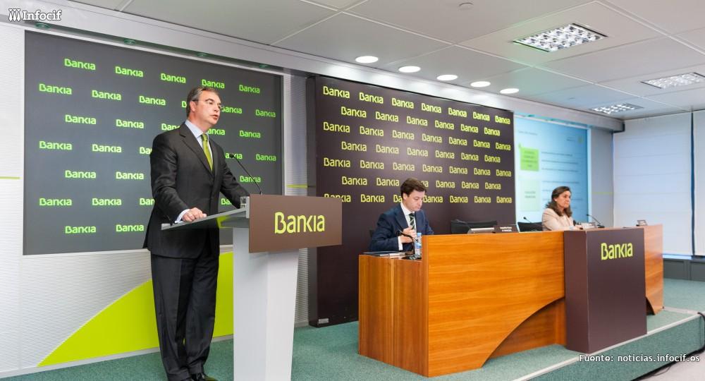 BFA-Bankia gana un 93% más hasta junio
