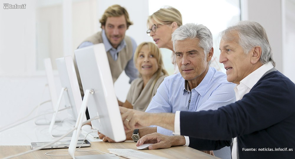 Beneficios del coworking para trabajadores mayores de 50 años