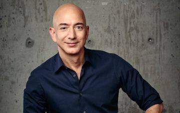 Jeff Bezos, fundador y consejero delegado del gigante del comercio electrónico, Amazon.
