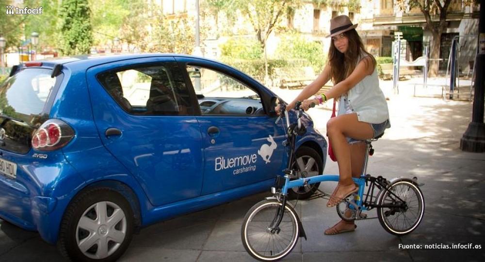 Carsharing: la alternativa de Bluemove al alquiler de coches tradicional