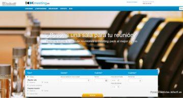 Bookmeeting es la primera plataforma de reservas online de salas y paquetes de reuniones en hoteles y espacios singulares