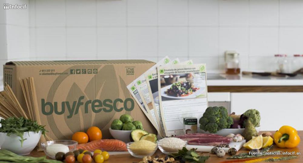 BuyFresco es una plataforma que entrega directamente en el domicilio recetas sanas e ingredientes