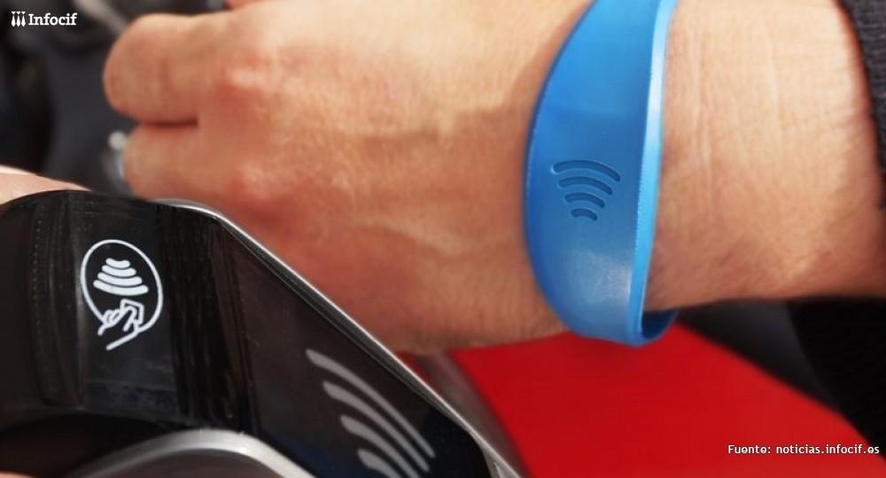 Fuerte crecimiento del pago con dispositivos 'contactless'