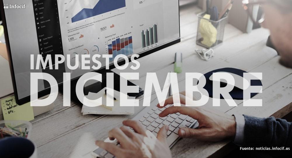 Calendario del Contribuyente: los Impuestos de Diciembre.