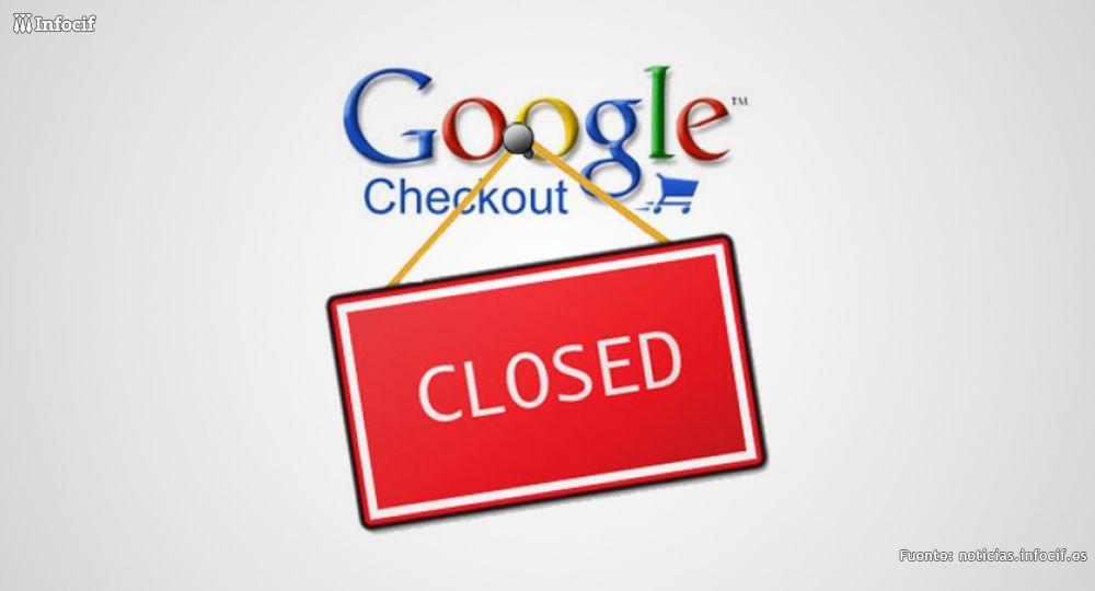 Google Checkout cuelga el cartel de cerrado en noviembre