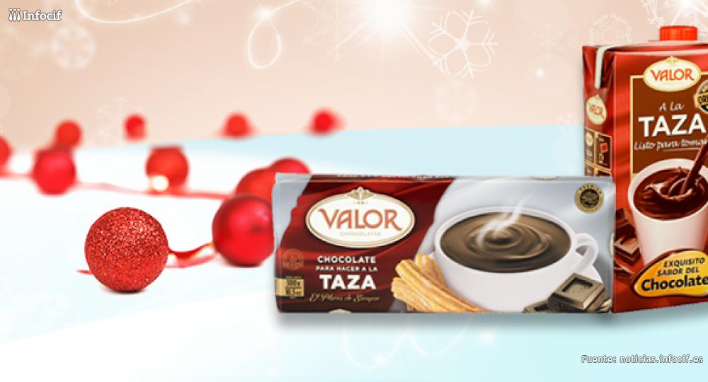 Chocolates Valor cierra el año con un crecimiento del 23%