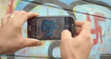 Fotografía los grafitis con la nueva app de Cif