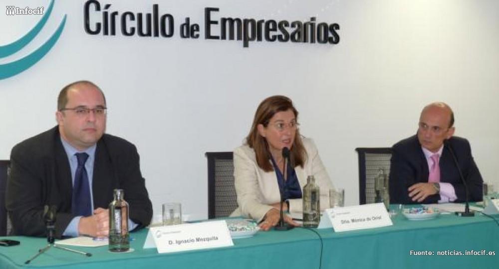 Mónica Oriol, presidenta del Círculo de Empresarios