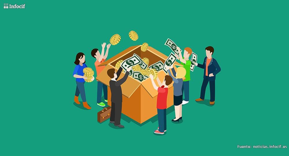 Crowdlending: Personas financiando empresas.