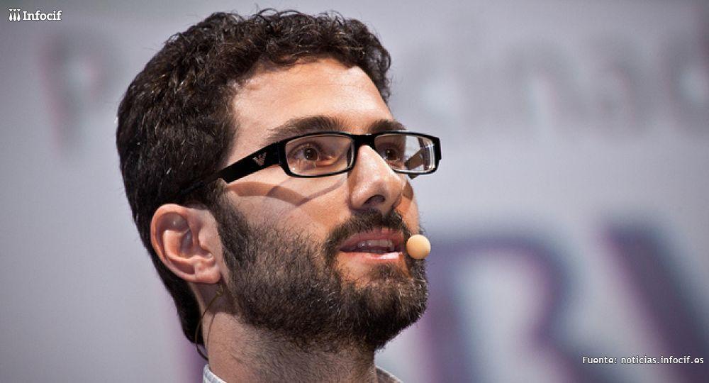 David Horna, durante el EmTech 2012. /EMTECH