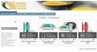Productos de Gastraval expuestos en el catálogo de Infocif.es