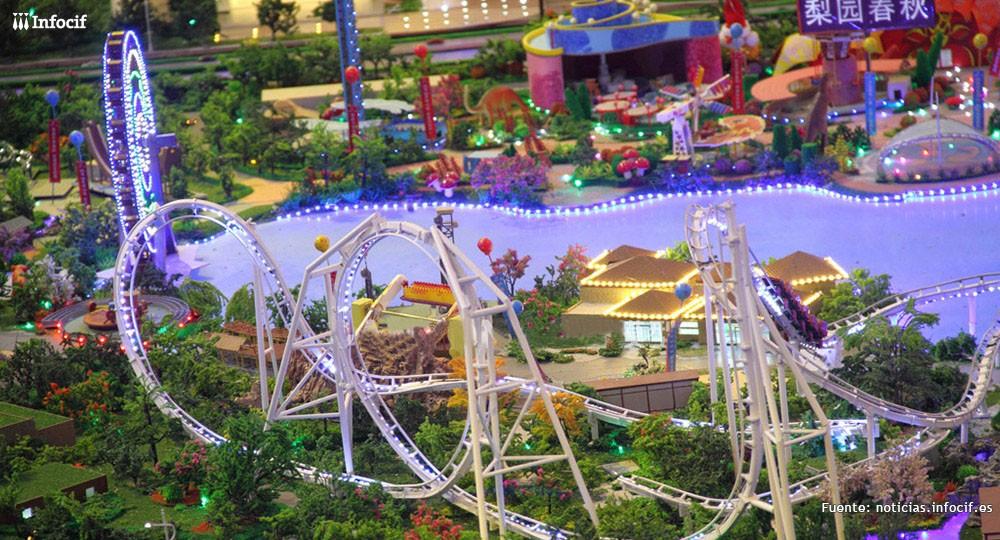Disney tiene nueva competencia en China con el parque `Wanda City'