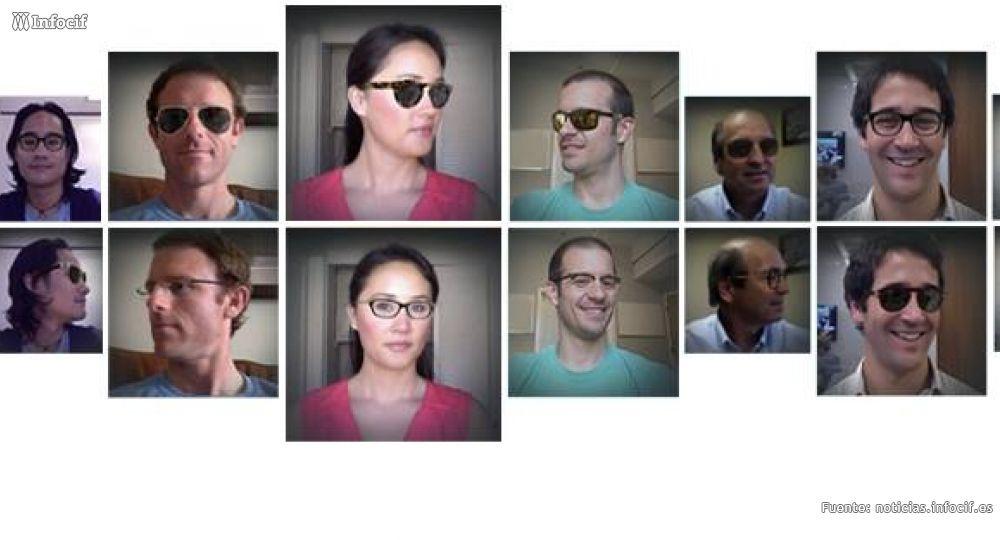 La tecnología 3-D de DITTO permite probarte gafas desde casa