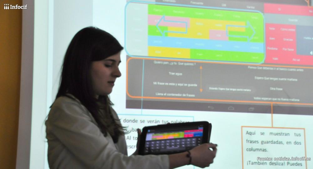 María de Antón presentado su aplicación 'Conversando'