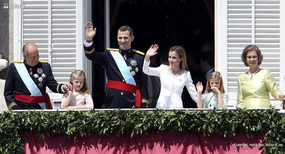 Apoyo del ámbito económico a Felipe VI, proclamado rey