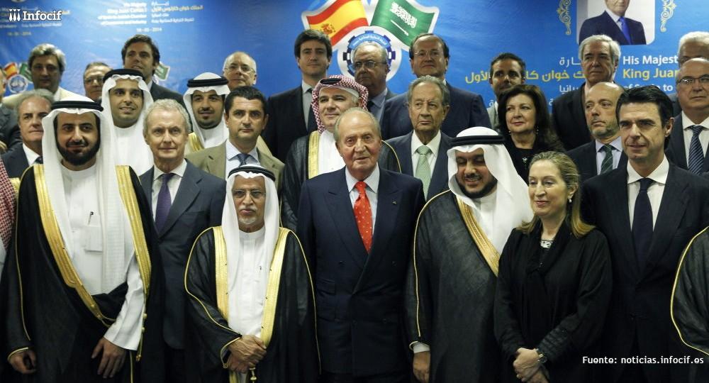 Empresas españolas optan a 230.000 millones de dólares en contratos en Arabia Saudí