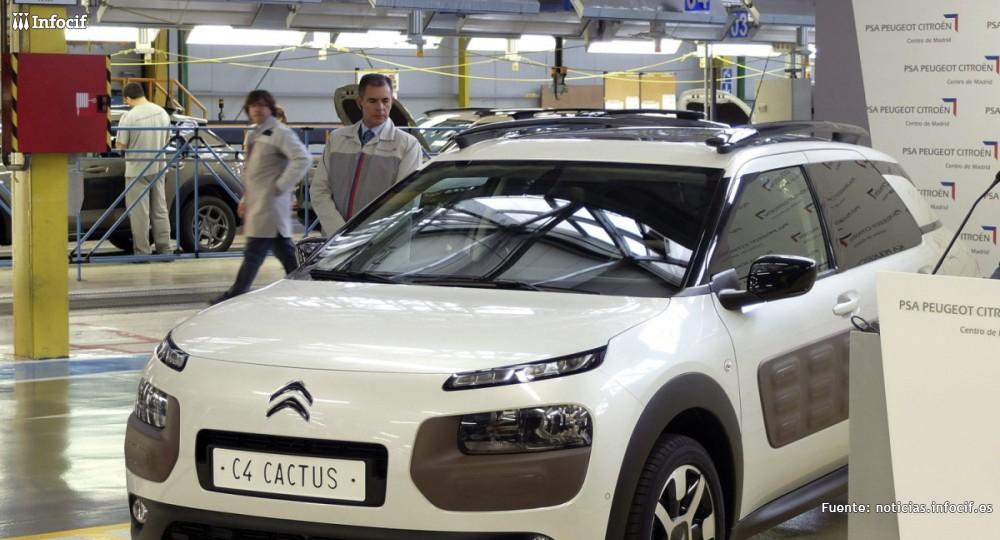 España ya es el noveno fabricante de coches del mundo