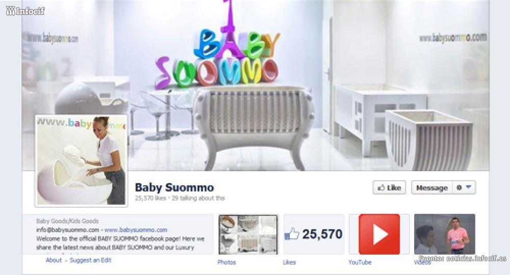 Una pyme valenciana de puericultura atribuye a Facebook el 18 % de sus ventas