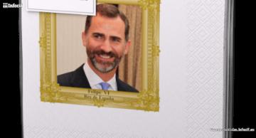 Renova saca una edición limitada de servilletas con la cara de Felipe VI