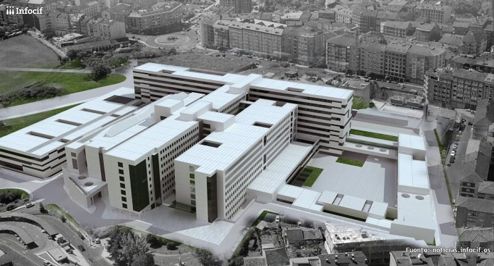 Ferrovial logra un contrato de 146 millones del Hospital Universitario de Orense